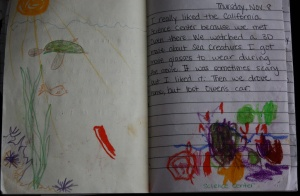 Age 3 Journal: Charles' dictation to Me