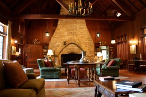 The Great Room at the Main Lodge