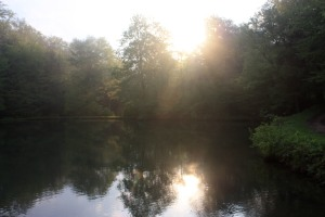 Sunrise at Jill's Pond